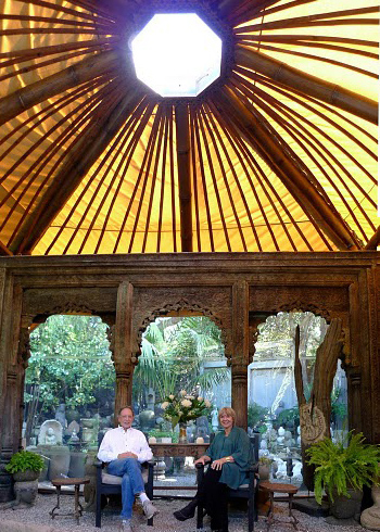 Paul and Ann at Sacred Space