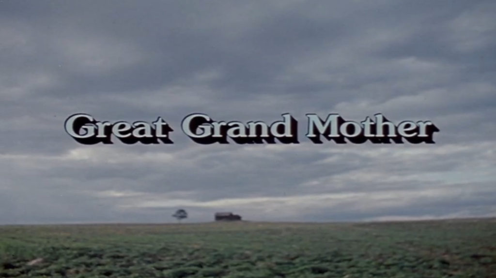 great-grand-mother