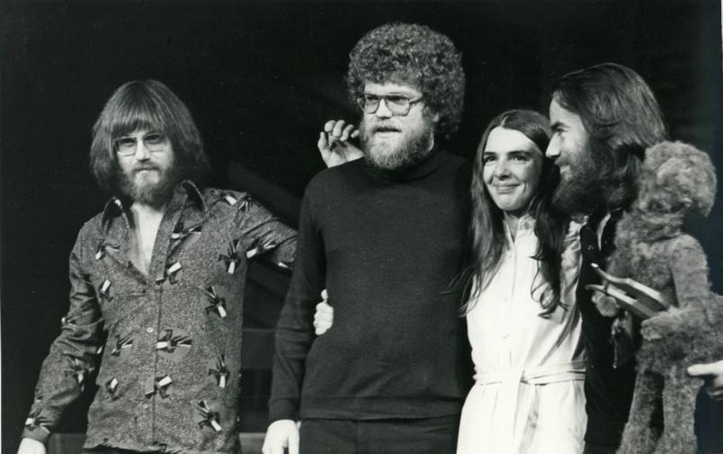 Doug Edwards at left